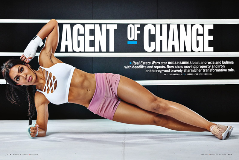 HODA MODE - Hoda Hajirnia Agent of Change - Muscle and Fitness Magazine