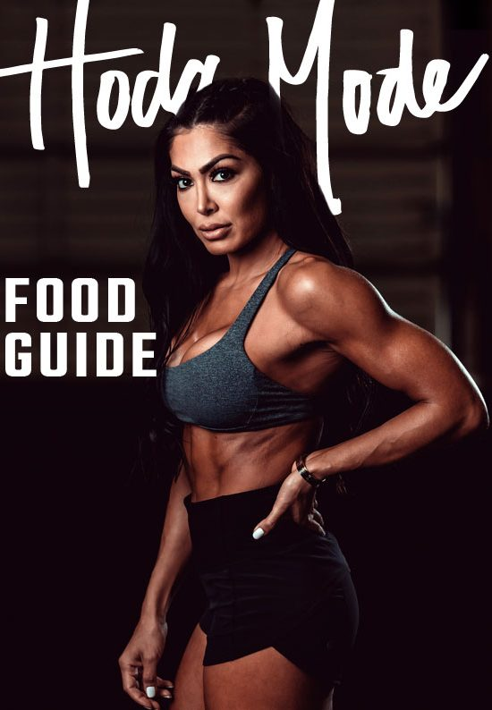 Hoda Mode FOOD GUIDE by Hoda Hajirnia